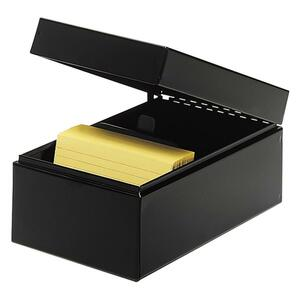 MMF Steelmaster Card File Box MMF263835BLA