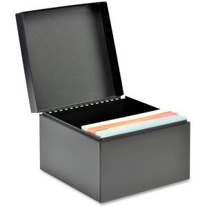 Steelmaster Card File Box