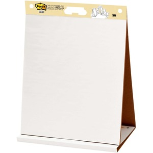 "Post-it Super Sticky Tabletop Easel Pad - 20 Sheet(s) - 20"" x 23"" - 20 / Pad - White"