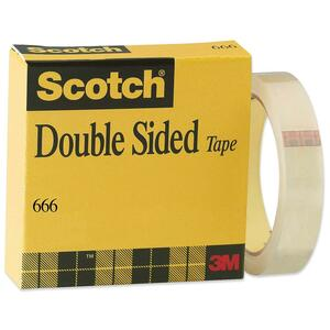Scotch Double-Coated Tape with Liner MMM6661X1296