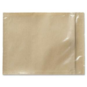 "3M Non-Printed Packing List Envelope - 4.5"" x 6"" - Polyethylene - 1 Each - Orange"
