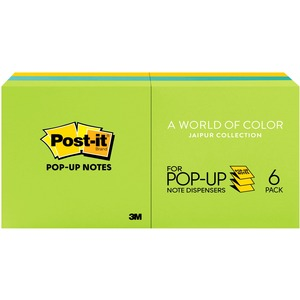 Post-it Pop-Up Ultra Color Refill Note MMMR330AU