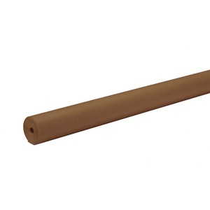"Pacon Spectra ArtKraft Duo-Finish Paper Roll - 48"" x 200ft - Brown"