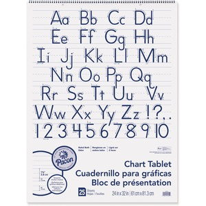 Pacon Ruled Manuscript Chart Tablets PAC74710