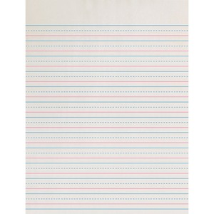 Pacon D'Nealian Practice Skip Ruled Newsprint PACZP2613