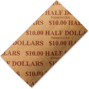 PM SecurIT $10 Half-dollars Coin Wrapper PMC53050