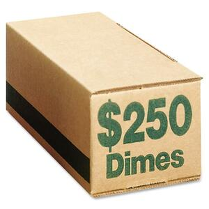 PM SecurIT $250 Coin Box (Dimes) PMC61010
