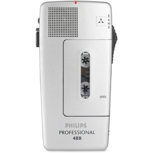 Philips PM488 Minicassette Voice Recorder PSPLFH048800B