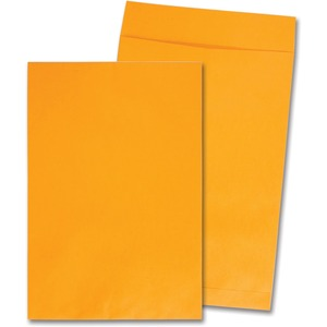 "Quality Park Jumbo Envelopes - 12.5"" x 18.5"" - 28lb - Kraft - 25 / Box - Kraft"