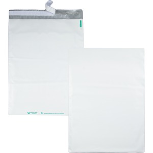 Quality Park Poly Jumbo Envelope - 14&quot; x 19&quot; - Self-sealing - Polyethylene - 100 / Pack - White