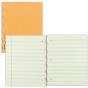 Rediform College Ruled Brown Board Cvr Notebook RED33068