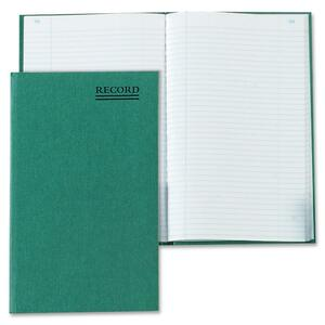 Rediform Green Bookcloth Record Account Book RED56521