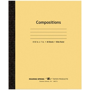 Roaring Spring Tapebound Composition Notebook ROA77308