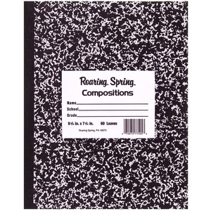 Roaring Spring Tapebound Composition Notebook ROA77505