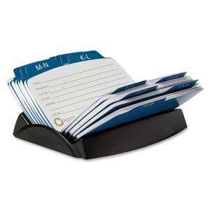 petite 6-Divider Open Petite Card File