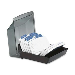 9-Divider Covered Petite Card File