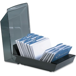 Covered Business Card File