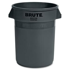 Rubbermaid Brute 2632-00 Round Dome Container RCP263200GY
