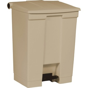 Rubbermaid Step-On Wastebasket RCP614500BG