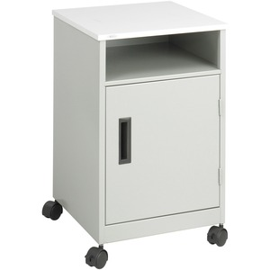Safco Compact Machine Stand - Steel - Gray