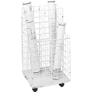 4 Compartments Wire Storage File