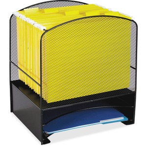 Mesh Hanging File and Letter Tray Rack