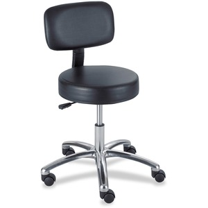 3430BL Pneumatic Lab Stool With Back