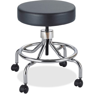 Screw Lift Lab Stool with Low Base