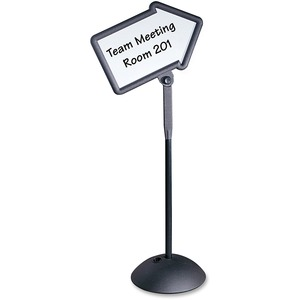 Safco WriteWay Directional Sign SAF4173BL