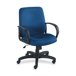 Safco Poise Collection Executive Mid-Back Chair SAF6301BU