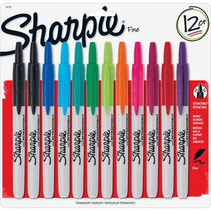 Sharpie Retractable Fine Point Markers SAN32707