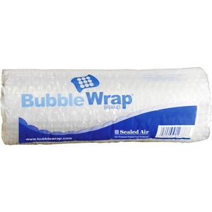 "Sealed Air Bubble AirCellular Cushioning Material - 12"" Width x 10ft Length - 1 Wrap(s) - Lightweight, Perforated - Clear"