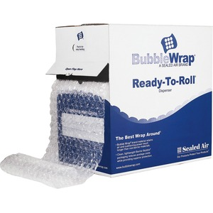 "Sealed Air High Performance Air Cap Bubble Wrap - 12"" Width x 100ft Length - 1 Wrap(s) - Heavy Duty - Clear"