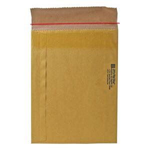 "Sealed Air Jiffy Rigi Bag Mailer - #3 (8.5"" x 13"") - Self-sealing - Fiberboard - 200 / Carton - Satin Gold"