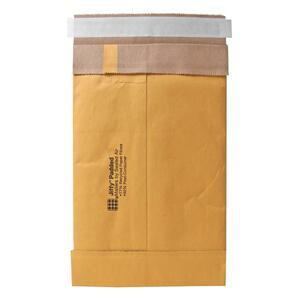 "Sealed Air Jiffy 85871 Padded Mailer - #0 (6"" x 10"") - Peel and Seal - Kraft - 250 / Carton - Satin Gold"