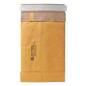"Sealed Air Jiffy 85922 Padded Mailer - #1 (7.25"" x 12"") - Peel and Seal - Kraft - 100 / Carton - Satin Gold"