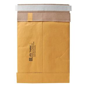 "Sealed Air Jiffy 85949 Padded Mailer - #2 (8.5"" x 12"") - Peel and Seal - Kraft - 100 / Carton - Satin Gold"