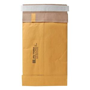 "Sealed Air Jiffy 85967 Padded Mailer - 8.5"" x 14.5"" - Peel and Seal - Kraft - 100 / Carton - Satin Gold"
