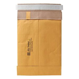 "Sealed Air Jiffy 85985 Padded Mailer - #4 (9.5"" x 14.5"") - Peel and Seal - Kraft - 100 / Carton - Satin Gold"