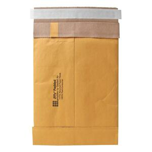 "Sealed Air Jiffy 86006 Padded Mailer - #5 (10.5"" x 16"") - Peel and Seal - Kraft - 100 / Carton - Satin Gold"