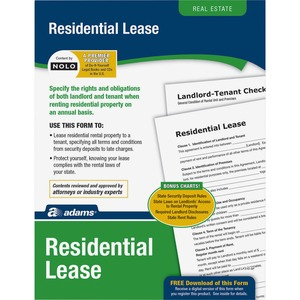 Socrates Residential Lease Forms - 1