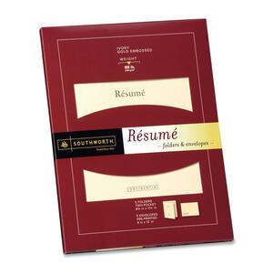 Southworth Resume Folder/Envelope SOURF3