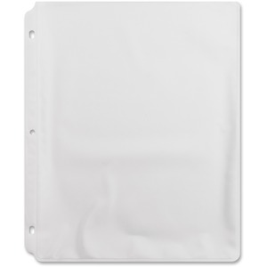 "Sparco Vinyl Sheet Protector - For Ring Binder - Letter 8.5"" x 11"" - Vinyl - 50 / Box - Non-glare"