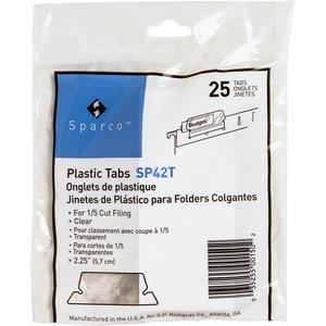 Plastic Clear Tab