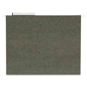"Sparco Standard Hanging File Folder - Letter - 8.5"" x 11"" - 1/3 Tab Cut - 25 / Box - Green"