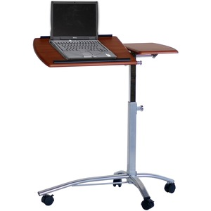 "Tiffany Workstation - Rectangle x 38"" - Steel - Cherry"