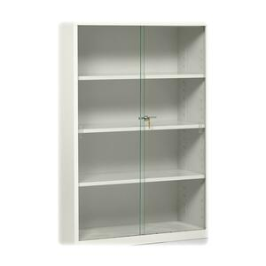 Tennsco Steel Bookcase Glass Door Kit TNN352GDK