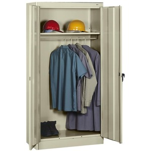 Tennsco Heavy-gauge Steel Wardrobe Cabinet TNN7114PY