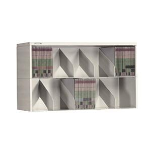 "Tennsco A36 Series Modular Filing System - 36"" - Steel - Stackable - Light Gray"