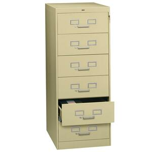 Tennsco Card Files & Media Storage Cabinet TNNCF669SD